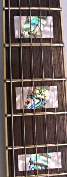 Dillion Jazzmaker neck with abalone markers