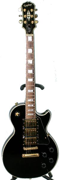 Epiphone Les Paul Custom Black Beauty guitar