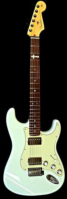 Fender USA Stratocaster with uinlayed abalone cross