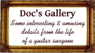 Guitar Doctor Gallery of custom guitar work from the past
