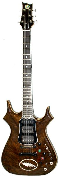 Gerry Garcia Tribute Custom Guitar front