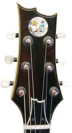 Gerry Garcia Tribute Custom Guitar headstock