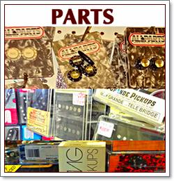 Guitar parts for sale at Guitar Doctor